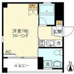 【1月~】SK Flats東神奈川401★単身者には最強に便利な立地!